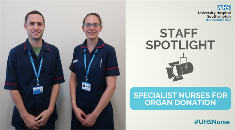 Specialist nurses for organ donation